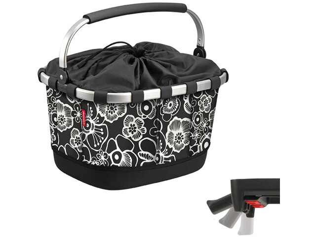 KlickFix Reisenthel Carrybag GT With Uni Clip fleur black